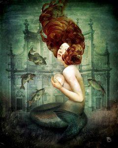 Surealisme and Fantasy digital painting Christian Schloe Artwork
